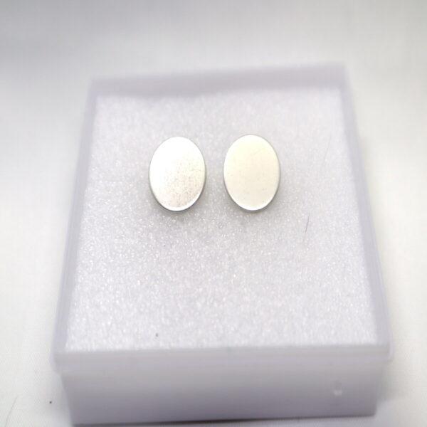 Shop Wyoming Circled Metallic Toned Studded Earrings Set of 4