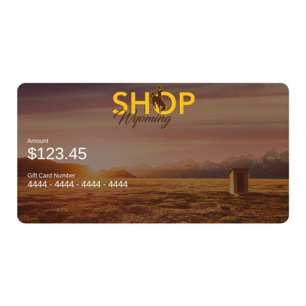 Shop Wyoming Shop Wyoming Online Gift Card