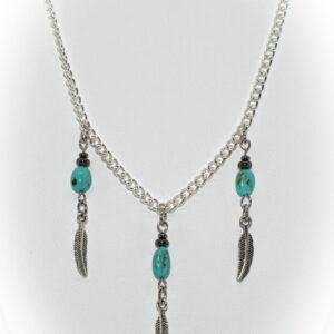 Shop Wyoming Three Feather Necklace TPN-12