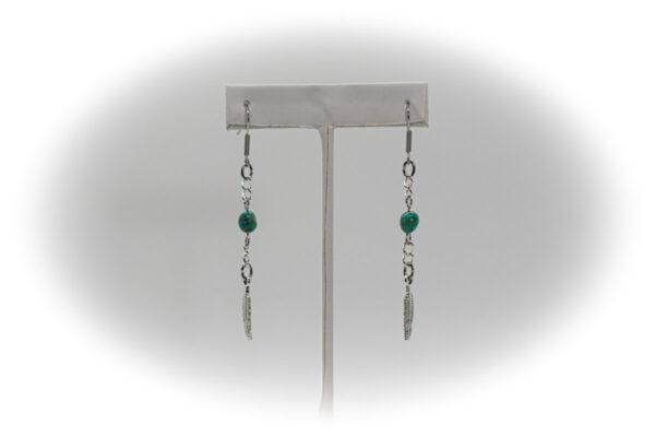 Shop Wyoming Feather Dangle Earrings PE-6B