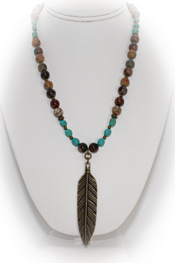 Feather Necklace TPN-11A