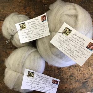 Shop Wyoming Tronstad Ranch Oatmeal Lamb's Wool Roving