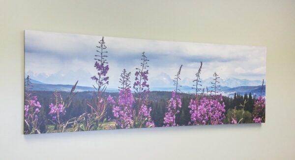 Shop Wyoming Large 20 x 60 Wildflower Tetons Canvas