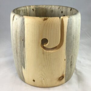 Shop Wyoming One-of-a-Kind Yarn Bowl by Jerry Ertle – Pine Beetle Kill #66