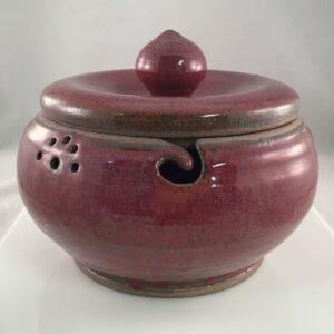 Shop Wyoming Muddy Mountain Pottery Yarn Bowl – Lidded #1