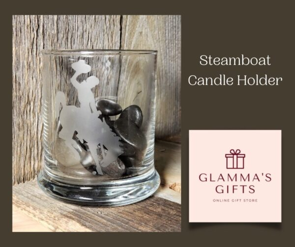 Shop Wyoming Steamboat Round Candle Holder