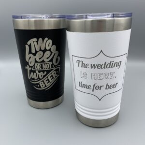 Shop Wyoming Insulated Wedding Pint Tumbler(s)