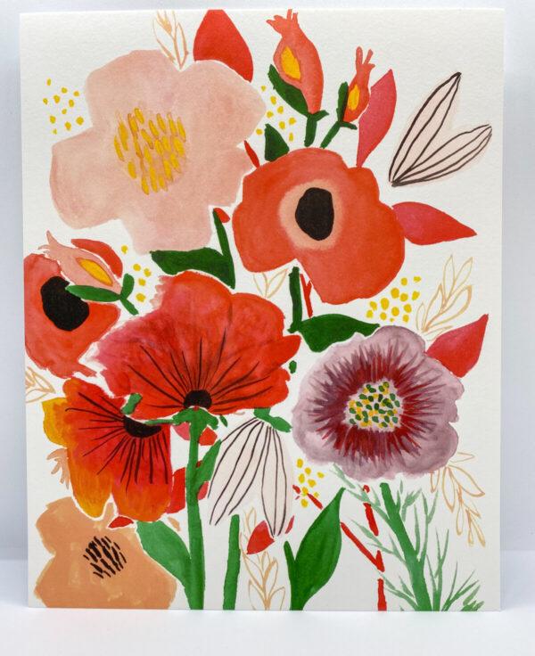 Shop Wyoming Tina's Garden Art Print