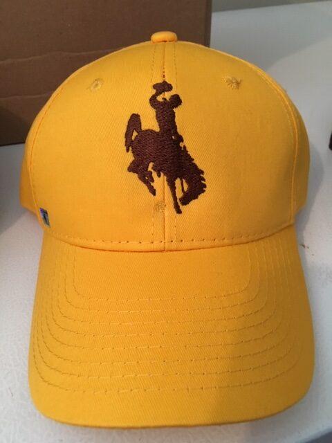 Shop Wyoming Wyoming Bucking Horse Gold Cap