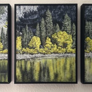 "Shop Wyoming ""Indian Summer Triptych"" Oil Painting"