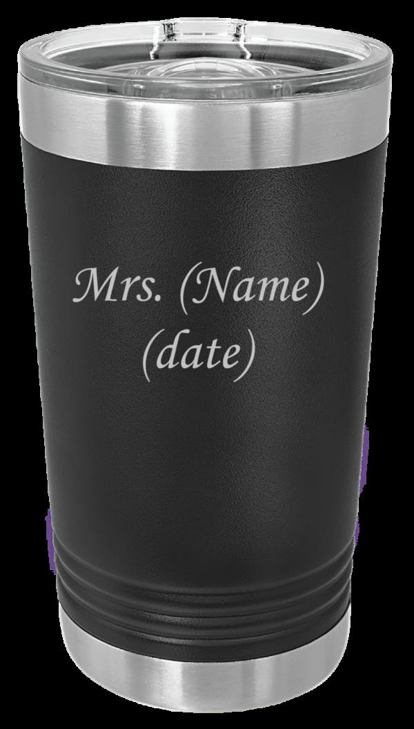 Shop Wyoming Insulated Wedding Pint Tumbler(s)