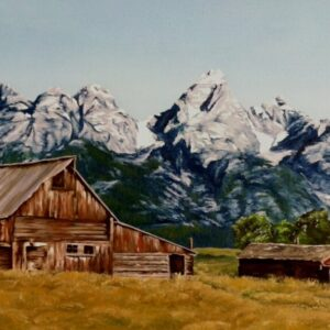 "Shop Wyoming ""Lost in Time"" Oil Painting"