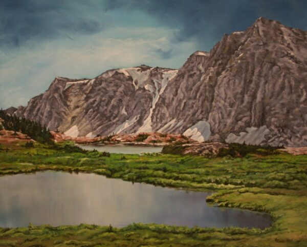 "Shop Wyoming ""The Peaks"" Oil Painting"