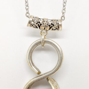 silverware infinitiy necklace jubilee