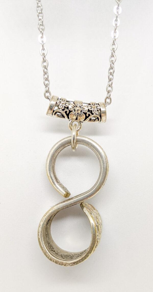 silverware infinitiy necklace jubilee