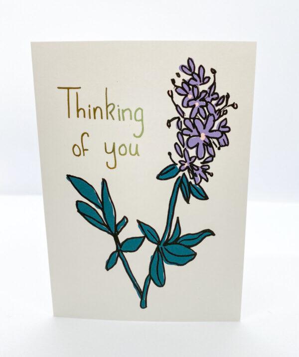Shop Wyoming Desert Sage Greeting Card