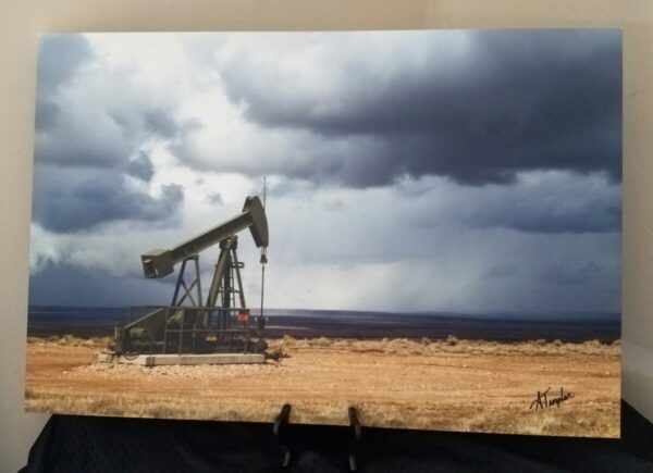 Shop Wyoming 24×36 Wyoming Well Pump Canvas