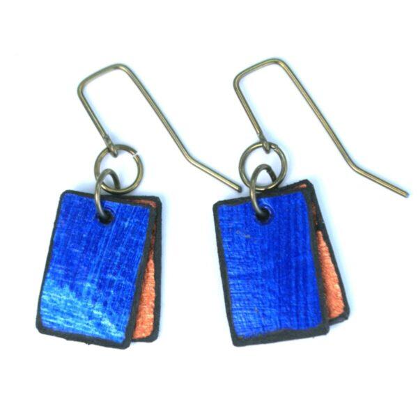 Shop Wyoming Double Rectangle Earrings