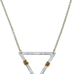 Shop Wyoming Wire-Wrapped Triangle Pendant Necklace