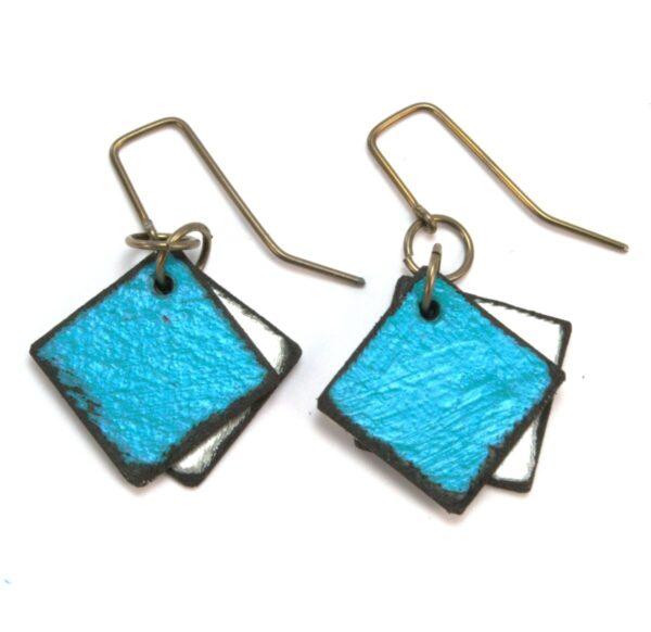 Shop Wyoming Double Diamond Earrings