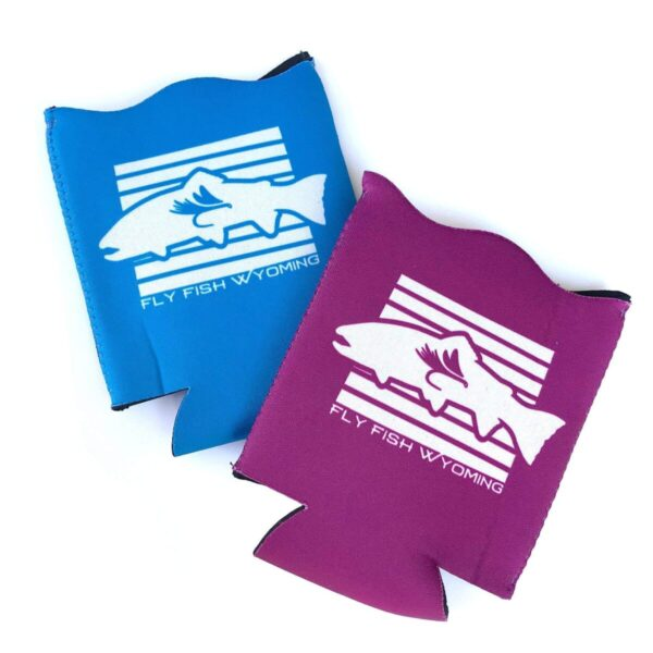 Shop Wyoming Wyoming State Fish Koozie – Purple