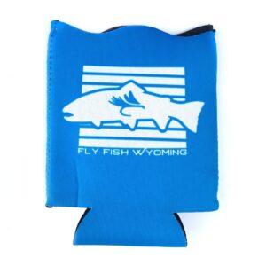 Shop Wyoming Wyoming State Fish Koozie – Blue