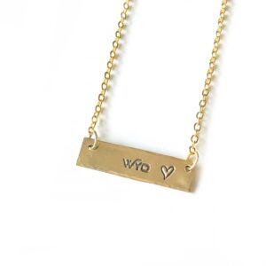 Shop Wyoming Wyo + Love Necklace
