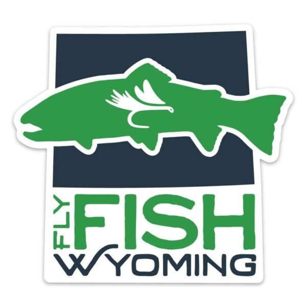 Shop Wyoming Fly Fish Wyoming® Logo Sticker