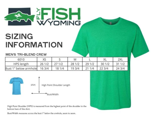 Shop Wyoming Signature Fly Fish Wyoming®  Logo Tee 2