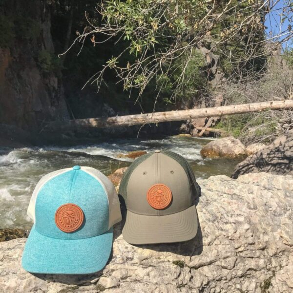 Shop Wyoming Reel Patch Trucker Hat – Teal
