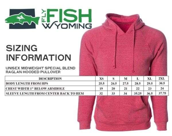 Shop Wyoming Fish Jump Hoodie – Midnight Gray