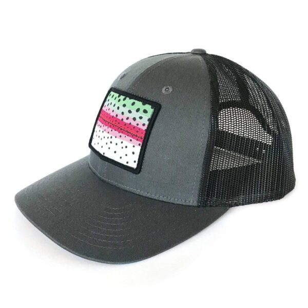 Shop Wyoming Rainbow Trout Pattern Patch Hat