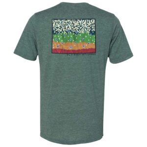 Shop Wyoming Brook Trout Pattern Tee