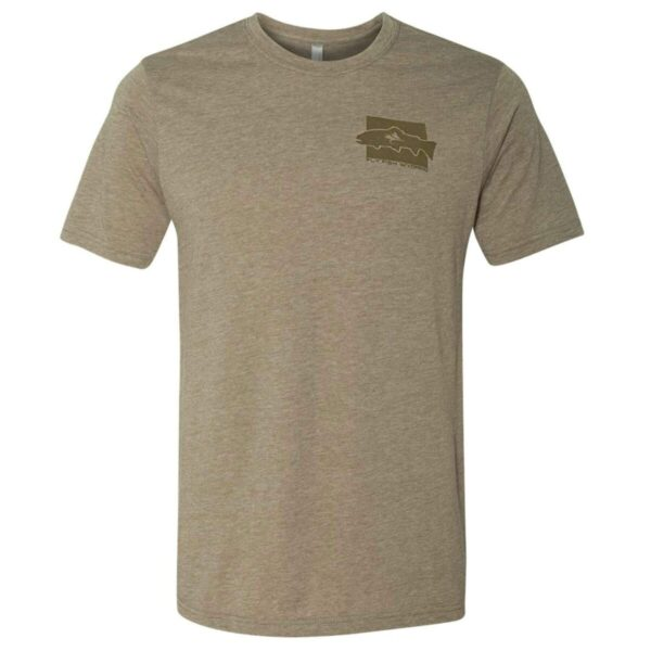 Shop Wyoming Brown Trout Pattern Tee