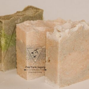 Shop Wyoming Goat Milk Salt Bar Soap- Rainforest Overlay