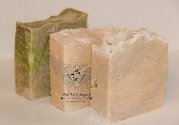Shop Wyoming Goat Milk Salt Bar Soap- Rainforest Overlay