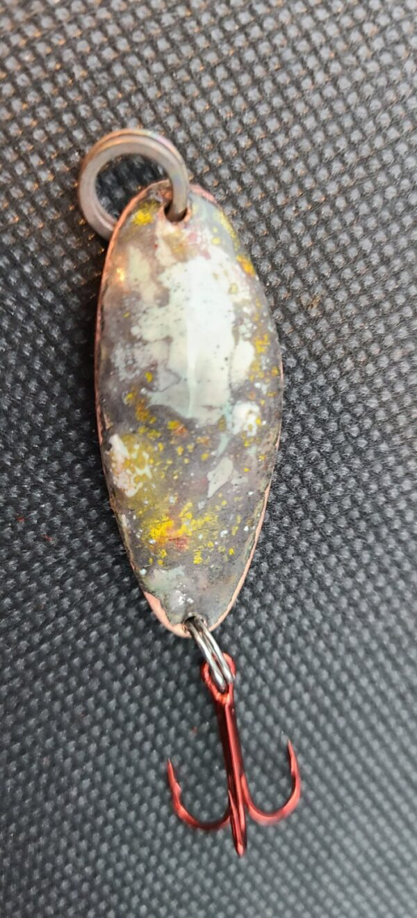Shop Wyoming Brown and Gold Starry Night with Bison Fishing Lure