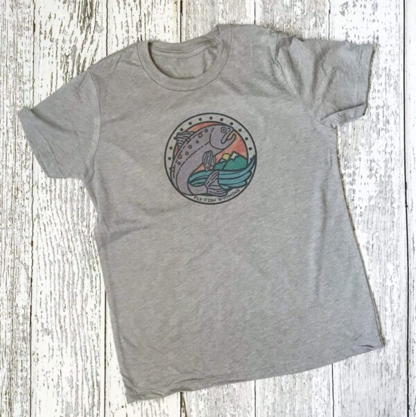 Shop Wyoming Kids Reel Fun Tee