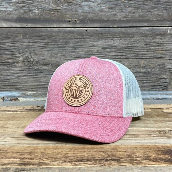 Shop Wyoming Reel Patch Trucker Hat 2.0 – Red Heather