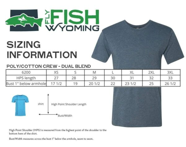 Shop Wyoming Rainbow Trout Pattern Tee