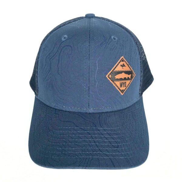 Shop Wyoming Diamond Patch Topo Hat