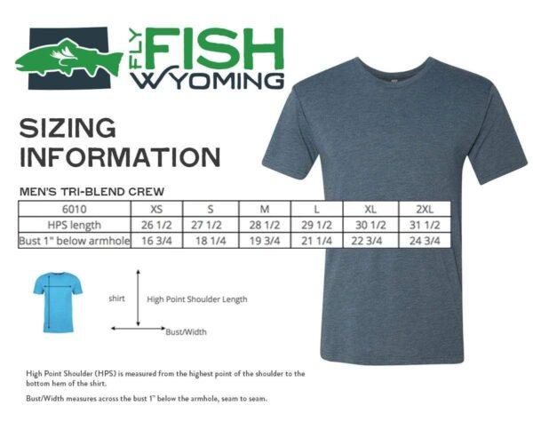 Shop Wyoming Wyo Fly Bison Logo Tee – Vintage Blue