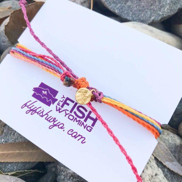 Shop Wyoming Wyoming Sunset Woven Bracelet