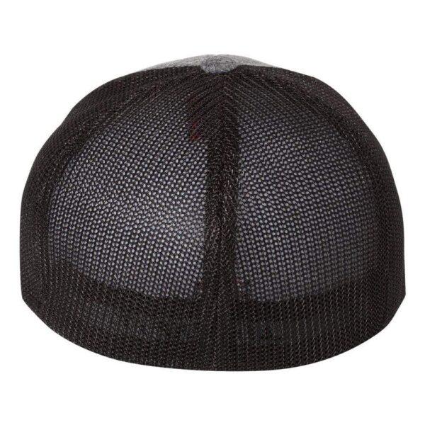 Shop Wyoming Wyo Fly Bison Flex-Fit Mesh Hat – Gray/Black