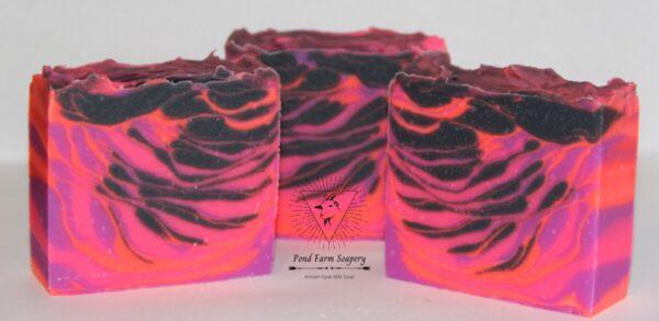 Shop Wyoming Goat Milk Soap- Neon Fantasy