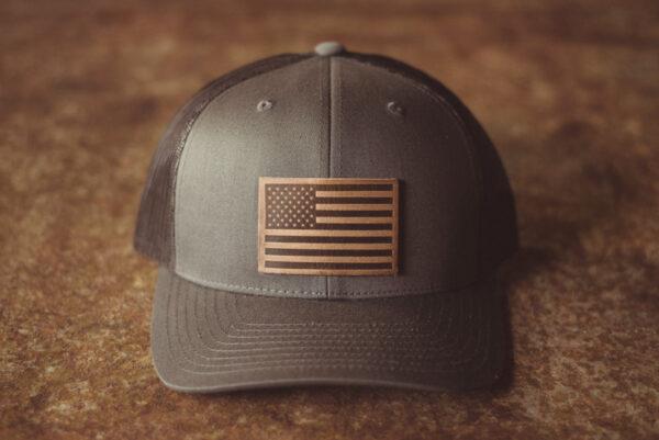 Shop Wyoming American Flag Hat