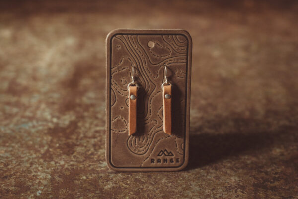 Shop Wyoming Bar Leather Earrings
