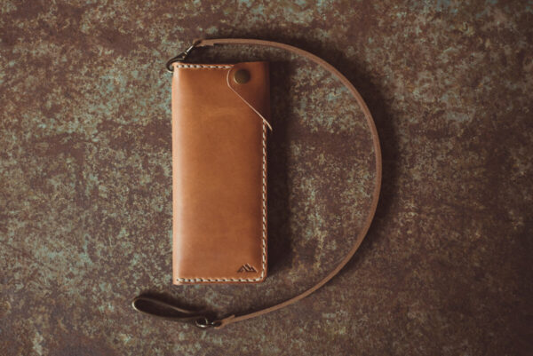 Shop Wyoming Big Horn Trucker Leather Wallet