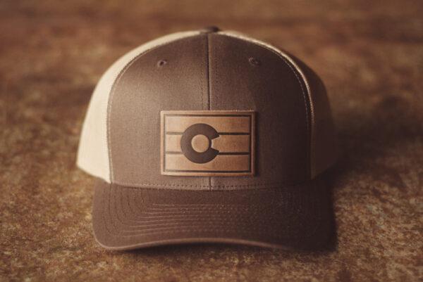 Shop Wyoming Colorado Flag Hat