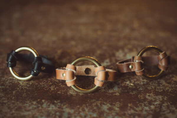 Shop Wyoming Chinati O-Ring Leather Bracelet
